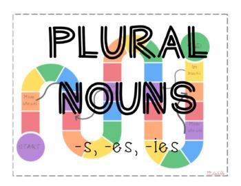 Plural Noun Board Game