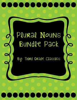 Plural Noun Bundle Pack