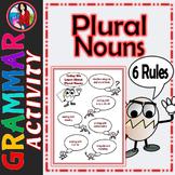 Plural Nouns, The Rules of Plural Nouns Activity