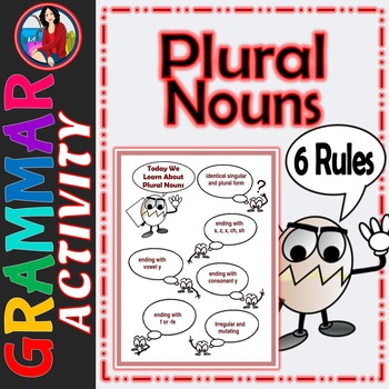 Plural Nouns, The Rules of Plural Nouns Activity