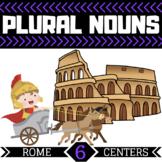 Plural Noun Centers | 6 Rome Themed Centers