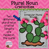 Plural Noun Crafts {Regular Irregular Possessive Noun Activity Art Language}