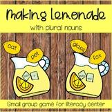 Plural Noun Activity, Plural Noun Center, Plural Noun Game