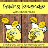 Plural Noun Activity, Plural Noun Center, Plural Noun Game