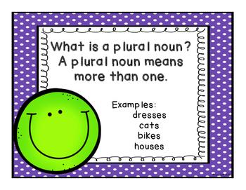 Plural Noun Lessons - Positively Perfect Plurals - Grades 1-3
