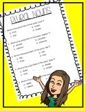 Plural Noun Multiple Choice Test