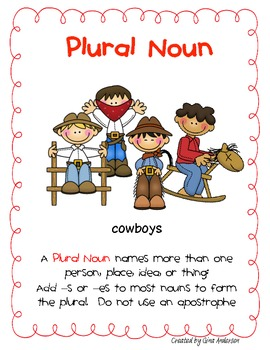 Plural Noun Packet