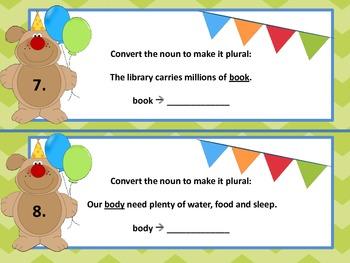 Plural Noun Party!