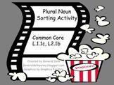 Plural Noun Popcorn Sort