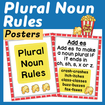 Plural Noun Posters and Mini Posters