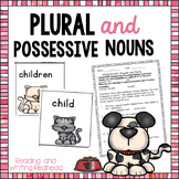 Plural Noun Practice Pack