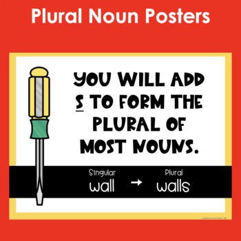 Plural Noun Project, Posters, and Printables