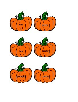 Plural Noun Pumpkin Patch