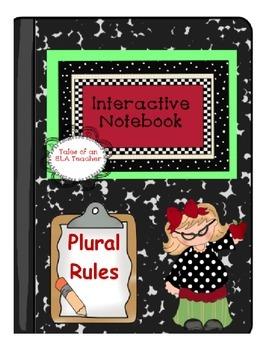Plural Noun Rules {Interactive Notebook}