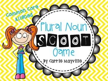 Plural Noun SCOOT Game