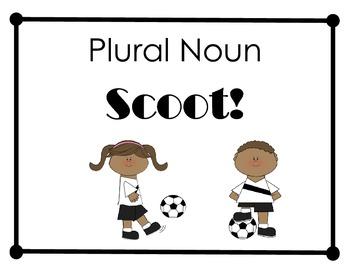 Plural Noun Scoot!