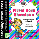 Plural Nouns: Cooperative Learning Activity and Assessments