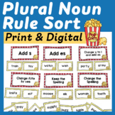 Plural Noun Sort and Reference Sheet