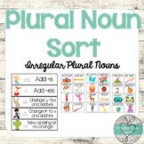 Plural Noun Sort or Scoot
