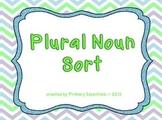 Plural Noun Sorting Activity
