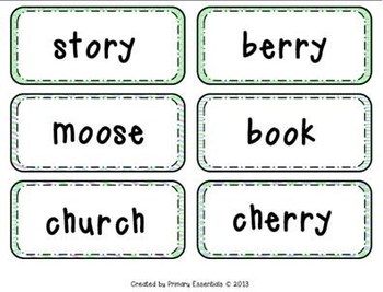 Plural Noun Sorting Activity