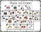Kindergarten Plural Noun Task Cards with Anchor Charts & Games