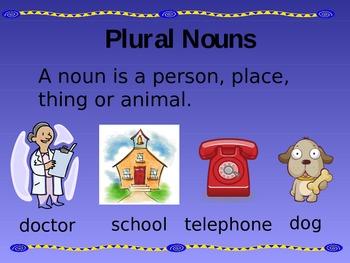 Plural Nouns