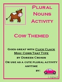 Plural Nouns 2nd grade farm themed