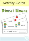 Plural Nouns Activity Cards