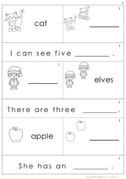 Plural Nouns Activity Cards