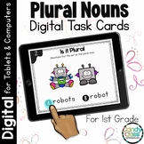 Plural Nouns Add -S: Digital Task Cards for Grammar Review