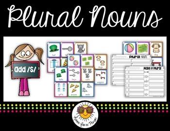 Plural Nouns Adding -S