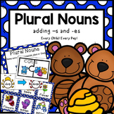 Plural Nouns:  Adding -s and -es