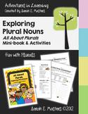Plural Nouns - All About Plurals - Plural Nouns Booklet, Activity Sheets, & Game