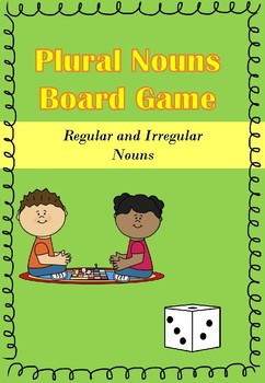 Plural Nouns Board Games