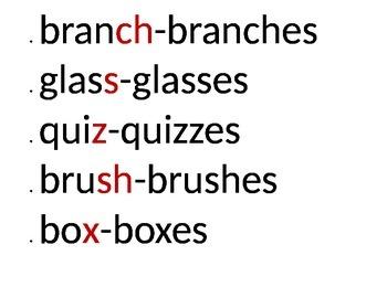 Plural Nouns Bulletin Printables