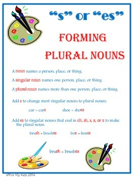 Plural Nouns Bundle