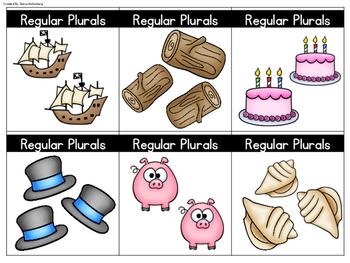 Plural Noun Cards