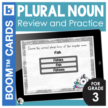 Plural Nouns Digital Task Cards