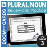 Plural Nouns Digital Task Cards