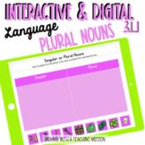 Plural Nouns Distance Learning Task Slides Google Drive Classroom