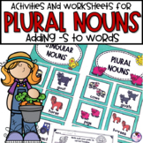 Singular and Plural Nouns   Activities and Worksheets