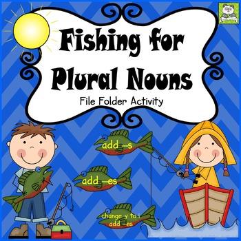 Plural Nouns File Folder Activity