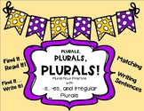 Plural Nouns - Find It, Write It!, Find It, Read it! and P