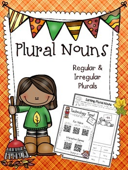 Plural Nouns For Fall {Regular & Irregular}