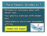 Plural Nouns—Grades 6-7