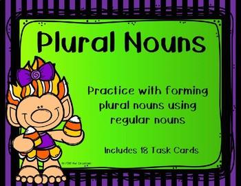 Plural Nouns {Halloween Theme}