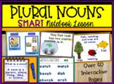 Plural Nouns - Huge SMART Notebook Lesson for Smartboards