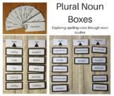 Plural Nouns Boxes I - X