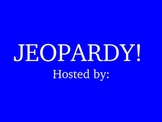 Plural Nouns Jeopardy Review Game